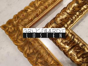 ornament goud lijst