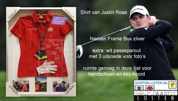 shirt van Justin Rose