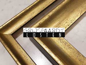 lijsten modern goud