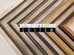 modern zilver met kleur rand lijst