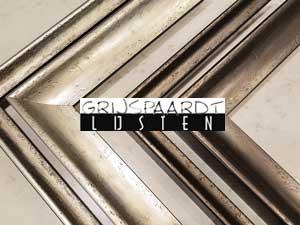 lijsten modern zilver