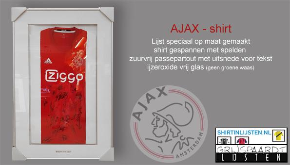 ajaxshirt inlijsten